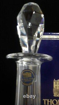 Thomas Webb crystal St Andrews wine decanter