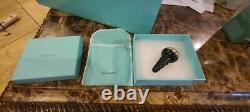 Tiffany & Co Crystal Wine Glasses and Elsa Peretti Sterling Thumbprint Stopper