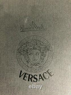 VERSACE Rosenthal MEDUSA LUMIERE Lila WHITE WINE 10 1/2 in BOX never Used