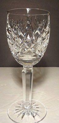 VINTAGE Waterford Crystal AVOCA (1985-) Set of 6 Claret Wines 6 1/2 5 oz