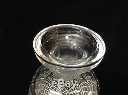 VTG Waterford Ireland Hand Cut Crystal Wine Whisky Decanter withStopper, 10 1/2 T
