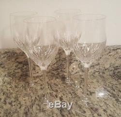 Vera Wang by Wedgwood Duchesse Crystal Wine Glasses, Set of 4