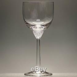 Villeroy & Boch OCTAVIE 7 Seven Large 19.6 cm Wine Glasses 11 oz Signed Firsts