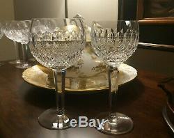 Vintage (1953-) Colleen Oversize 7-3/4 Tall, 3.5 Rim Waterford Wine Glass
