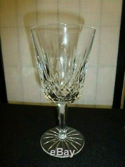 Vintage Waterford Crystal Lismore Water/Wine Glasses-6 7/8H-Lot of 4
