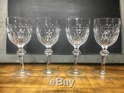 Vintage Waterford Curraghmore Water Goblets X7