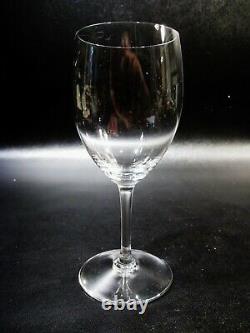 Vtg BACCARAT Crystal France HAUT BRION 4 Red Wine Goblets Saint Emilion