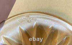 WATERFORD CRYSTAL AMETHYST PURPLE CLARENDON WINE HOCK GLASS Mint