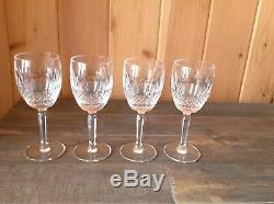 WATERFORD CRYSTAL COLLEEN TALL STEM 6½ WINE CLARETS/GLASSES Set of 6