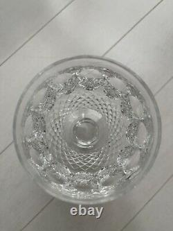 WATERFORD CRYSTAL COLLEEN WATER WINE GOBLETS 5-14 8 OZ GLASSES SET Of 4