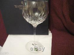 WATERFORD Lismore Essence Balloon wine glasses set/2 NIB! Gorgeous