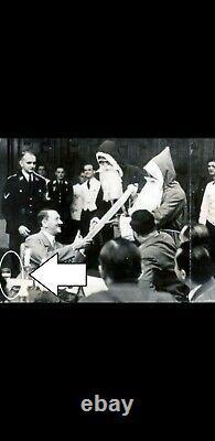 WW2 Adolf Hitler's crystal wine glass 3rd Reich Germany