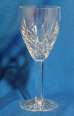 Waterford Araglin Claret Wine Crystal Stemware Set of 4