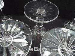 Waterford Crystal 12 Lismore Claret Wine Glasses, 5 7/8