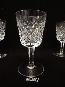 Waterford Crystal 12 Port Wine Glasses Alana 4 3/8