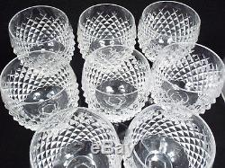 Waterford Crystal 8 Alana Wine Hocks, 7 3/8