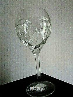 Waterford Crystal CLANNAD Balloon 8 3/4 Wine/water Glasses/GOBLET-SET OF 2