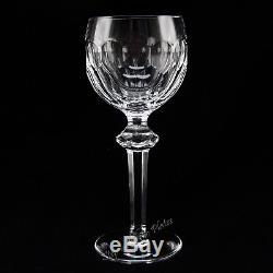 Waterford Crystal CURRAGHMORE Hock 7 1/2 Wine Glass Goblet /s Beautiful
