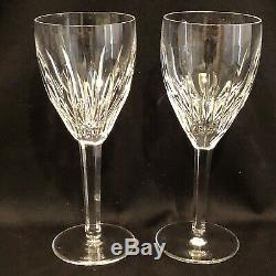 Waterford Crystal Carina Set Of 6 Wine Glasses 7 1/8 Marked Mint