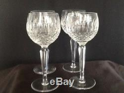 Waterford Crystal Colleen Balloon wine stems Set of 4