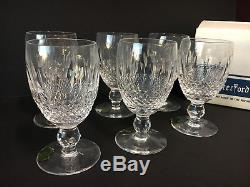 Waterford Crystal Colleen Claret Stemless Wine Glasses