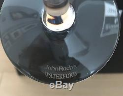 Waterford Crystal John Rocha Geo Red Wine Goblets Set Of 6 With Box. Rare
