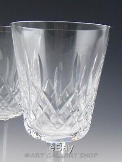 Waterford Crystal LISMORE 6-7/8 WINE WATER GOBLETS GLASSES Set of 6