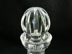 Waterford Crystal Liquor Bar Wine Footed Decanter Tramore Maeve w sticker unused