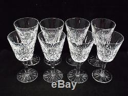 Waterford Crystal Lismore 8 Claret Wine Glasses, 5 7/8