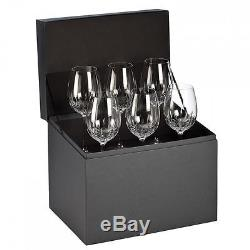 Waterford Crystal Lismore Essence Goblets (Set of 6) BRAND NEW 155950 Wine