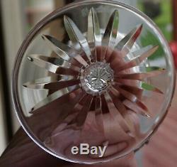Waterford Crystal Lismore Wine Hock Glasses 7 3/8 Set of 8