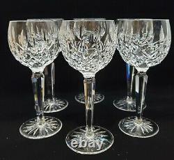 Waterford Crystal Lismore Wine Hock Set of 6 (2 sets available) Vintage Ireland