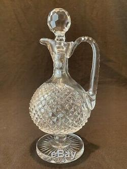Waterford Crystal Master Cutter Claret Wine Decanter and Stopper Tall 11 1/4 H