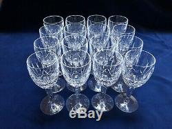 Waterford Crystal Stemware- Set Of 16-Kildare Wine Glass