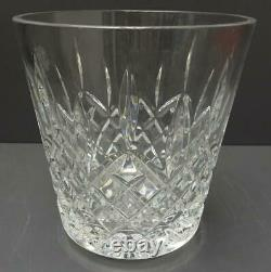 Waterford LISMORE 7.25 Lead Crystal Ice Bucket Wine Cooler champagne Ireland