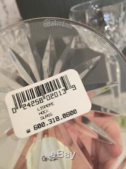 Waterford Lismore Hock Wine Glasses-Set Of 4-NIB