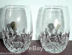 Waterford Lismore Nouveau Stemless 2 Piece White Wine Set 8 oz. 136877 New