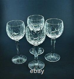 Waterford Lismore Red Wine Glass Set of Four