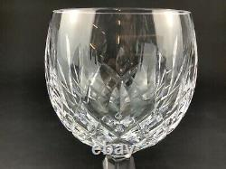 Waterford Lismore Wine Hock Set of SIX (6) 7 1/2 Crystal Glasses Goblets