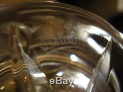 Waterford Lismore footed crystal spirit wine decanter, excellent condition