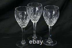 Waterford Marquis Laurent Water Goblet or Large Wine Glass 7.75 Lot of 3