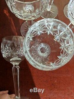 Waterford Rosslare (Cut) 7 1/2 Wine Hocks Set of 8