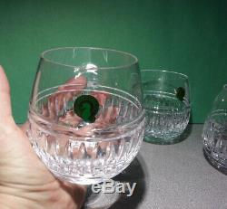 Waterford Stemless Red Wine Crystal Glass 12 oz, Set of 4