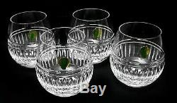 Waterford Stemless Red Wine Glasses SET/4 NWT